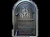 Дверцы печные со стеклом Феєрверк. Дверцы для печи и барбекю (560х345мм)