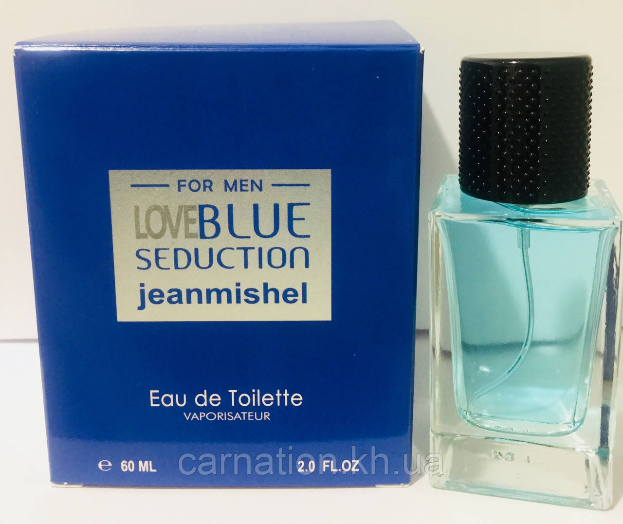 Мужской парфюм Love Blue Seduction Jeanmishel 60 мл