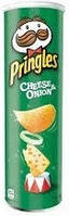 Чіпси Pringles Cheese & Onion, 165 г