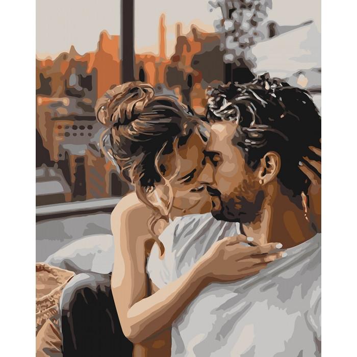 Картина по номерам Идейка -  Нежность чувств 40x50 см (КНО4655)