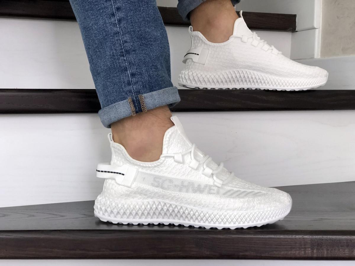 Мужские кроссовки белые 5G-HWEI 9004