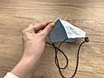 Маска для особи, Блакитна, фото 5