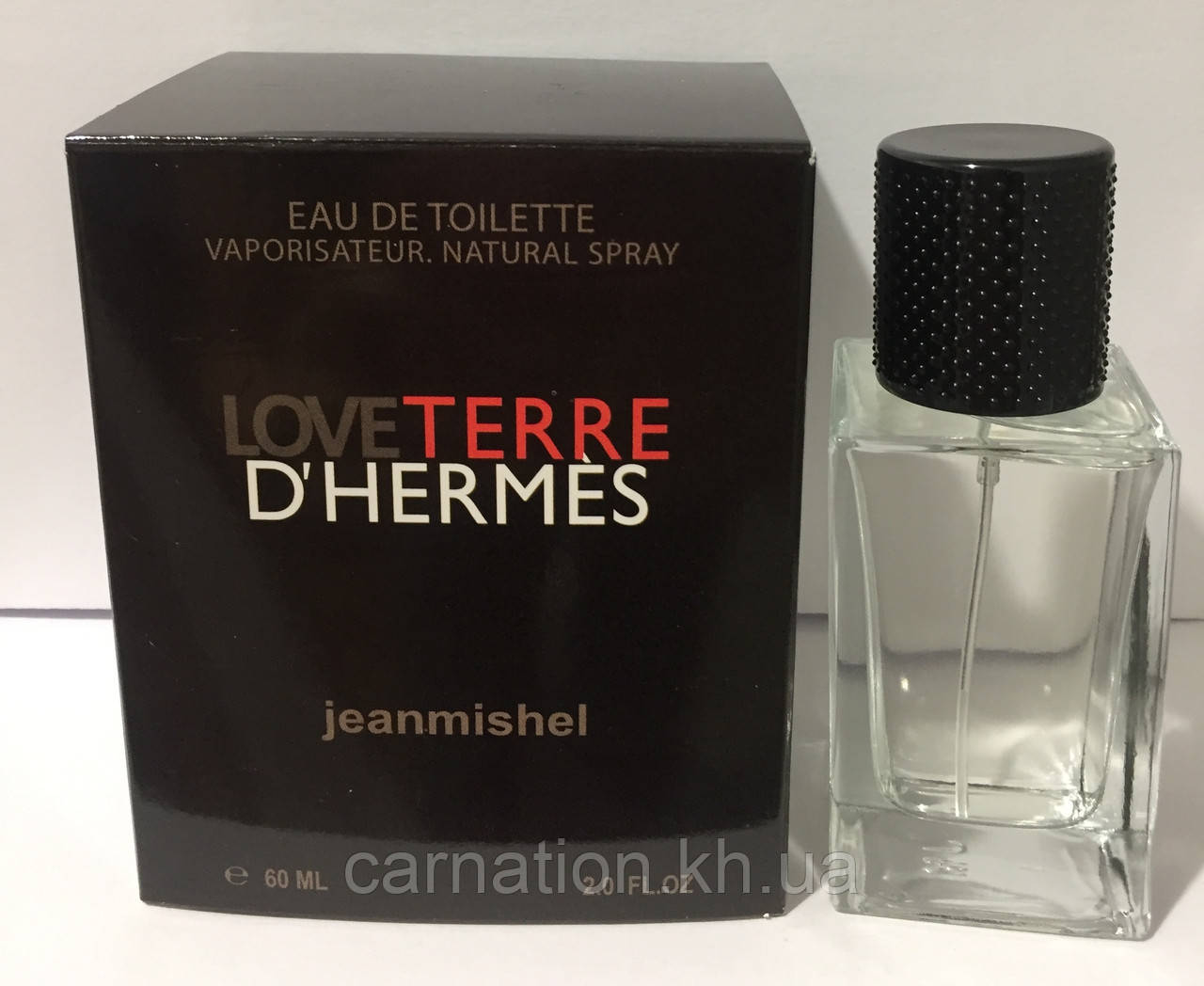 Мужской парфюм Jeanmishel LoveTerre d'Hermes 60 мл