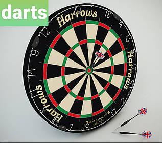 Дартс топовая мишень из сизаля Harrows Англия ProMathplay