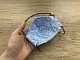 Маска для особи, Горошок на блакитному, фото 5