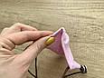 Маска для особи, Горошок на рожевому, фото 3