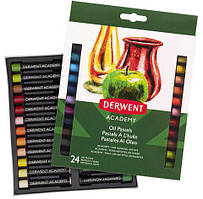 Набор масляной пастели Derwent Oil Pastels.