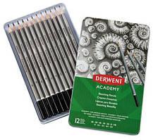 Набор чернографитных карандашей Derwent Academy Sketching Tin.