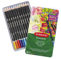 Набор цветных карандашей Derwent Academy Colour Pencil.