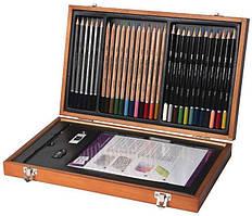 Подарочный набор в деревянной коробке Derwent Academy™ Wooden Gift Box