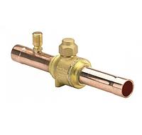 Запорный шаровой клапан GBC 28s / под пайку с клапаном Шредера / Danfoss