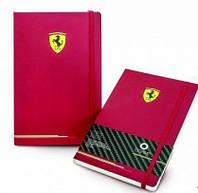 Блокнот OGAMI Hard Ferrari Средний Красный в точку (13х21 см) (8011688157216)