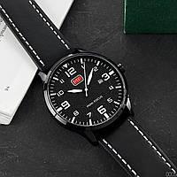 Годинники наручні чоловічі кварцові Mini Focus Чорні
