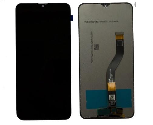 Дисплей Samsung A107 Galaxy A10s (IPS) + сенсор черный