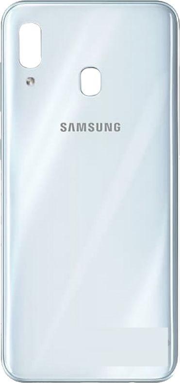 Задняя крышка Samsung A305 Galaxy A30 (2019) белая