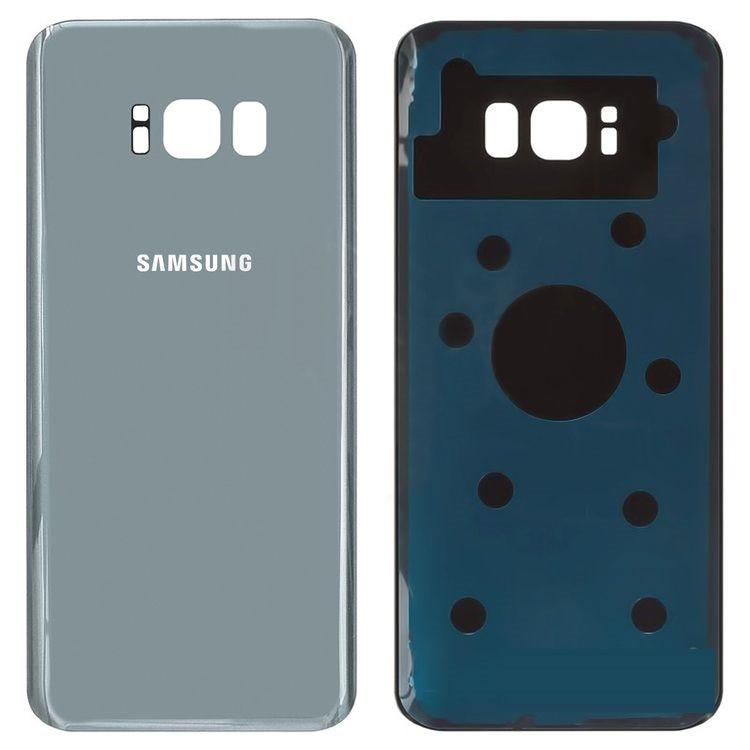 Задняя крышка Samsung G955F Galaxy S8 Plus (2017), серебро, Arctic silver