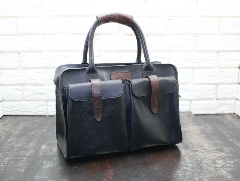 Повседневная  сумка из натуральной кожи 4018