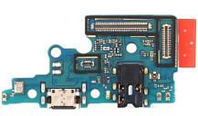 Шлейф Samsung A705F Galaxy A70 2019, з роз'ємом зарядки, з мікрофоном
