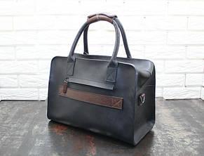 Повседневная  сумка из натуральной кожи 4018, фото 2