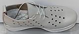 Кроссовки женские кожаные от производителя модель КЛ2151, фото 4
