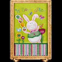 Открытка для вышивания бисером FLO-104 Happy Easter!