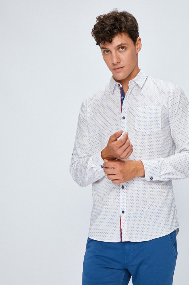 Рубашка мужская L