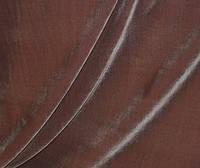 Штора из лилового шелкового бархата на молочной сатиновой подкладке