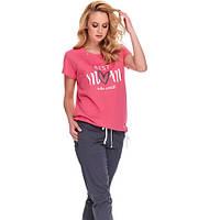 Комплект для дому: штани та футболка жіночі,ТМ Doctor Nap