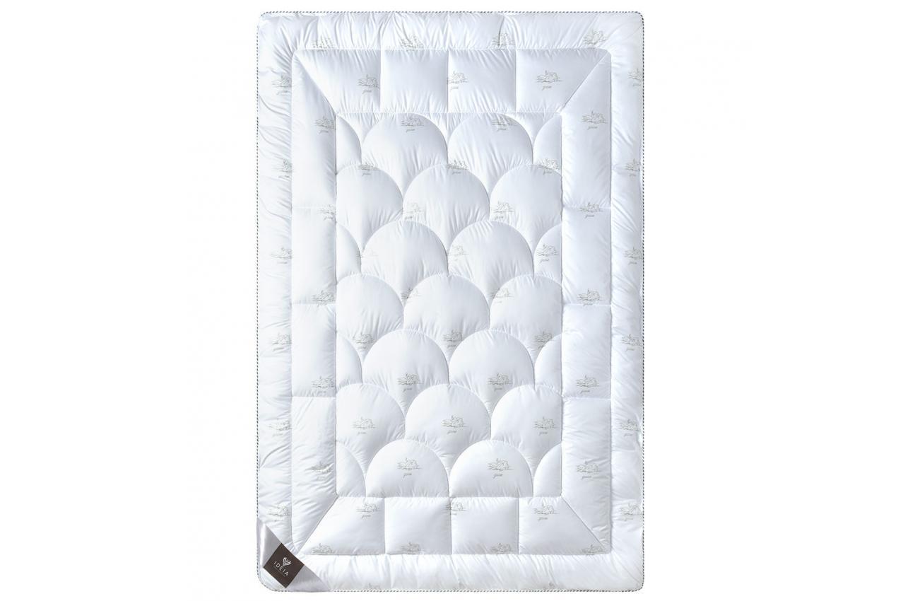 Одеяло искусственный лебяжий пух 155х215 зимнее Super Soft Classic IDEIA