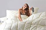 Одеяло шерстепон 200х220 зимнее Wool Classic IDEIA, фото 6