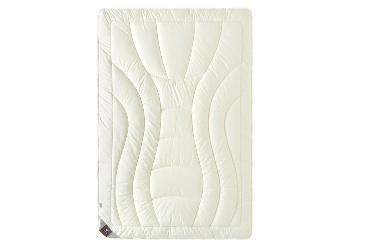 Ковдра вовняна 200х220 зимова двошарова Wool Premium IDEIA