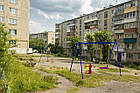 """Гойдалки дитячі вуличні ,подвійні """"Конячка-2 """", фото 2"""