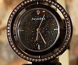Наручные кварцевые часы HS0082 с металлическим браслетом черного цвета, фото 3