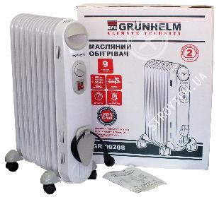 Масляный обогреватель Grunhelm GR-0920S SLIM