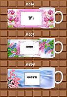 """Друк на чашках """"Фото рамки з квітами №3"""""""