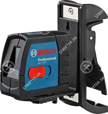 Bosch GLL 2-15 Professional Линейный лазерный нивелир + BM3 + кейс (0601063702)