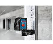 Bosch GLL 2-15 Professional Линейный лазерный нивелир + BM3 + кейс (0601063702) , фото 3