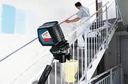 Bosch GLL 2-50 + штатив BS 150 (105) Линейный лазерный нивелир (0601063105) , фото 3