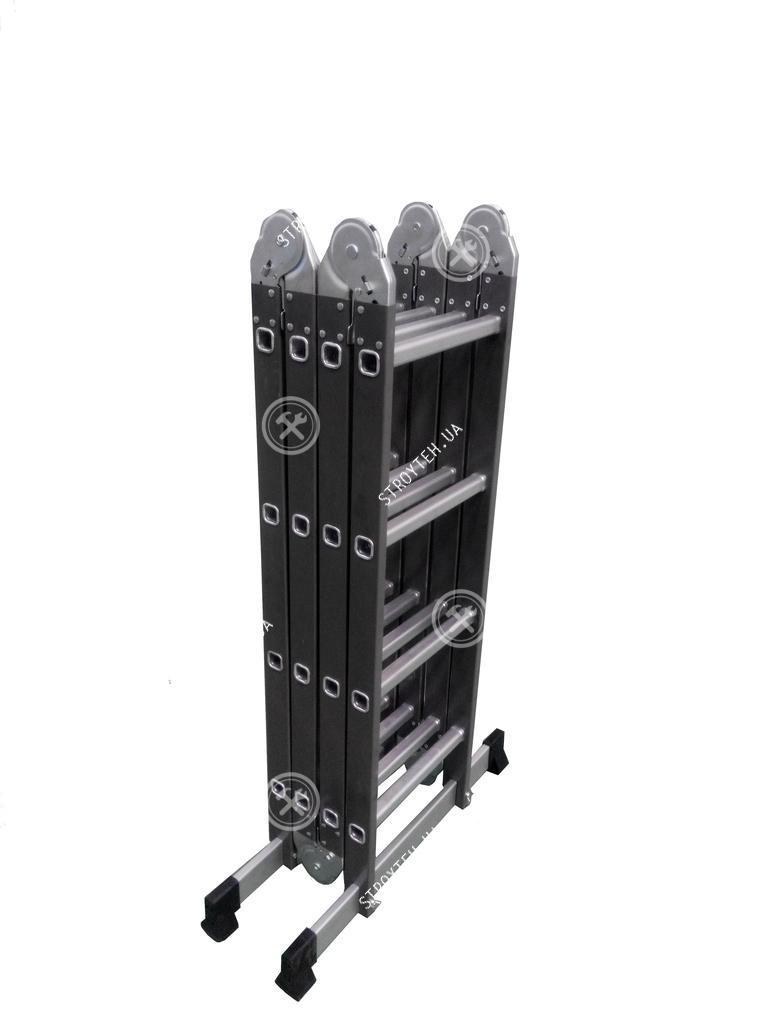 Werk LC5416B Лестница шарнирная комбинированная (металл+алюминий)