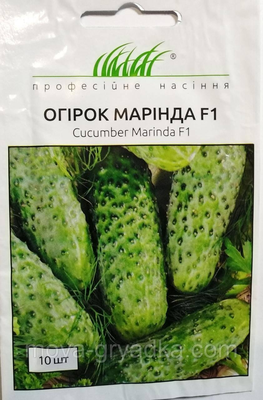 """Насіння Огірок Марінда F1 10 шт ТМ """" Професійне насіння """""""