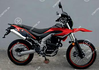 Мотоцикл FORTE FT250GY-CBA красно-черный