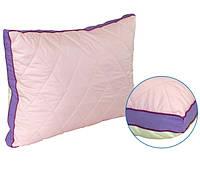 Подушка 50х70 Fresh Breeze двусторонняя розово-кремовая силикон (310Fresh Breeze В)