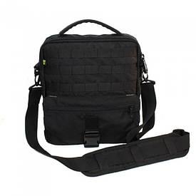 Сумка-планшет для ноутбука с MOLLE черная