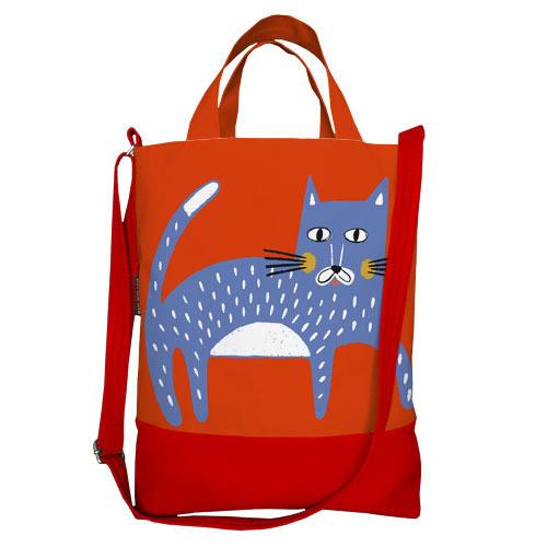Городская сумка City Кот (SCB_20M029_MR)