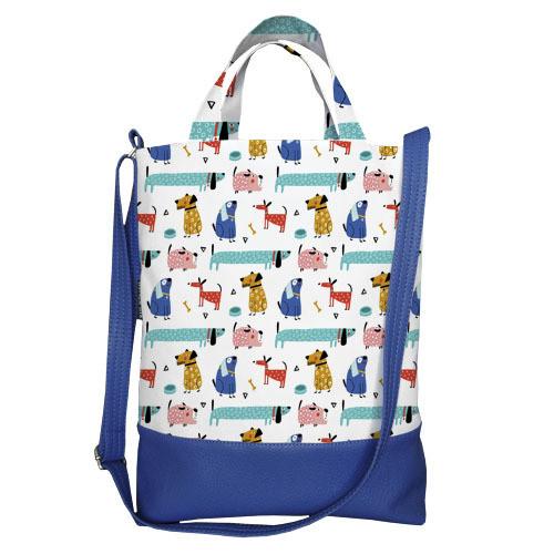 Городская сумка City Собачки (SCB_20M013_SI)