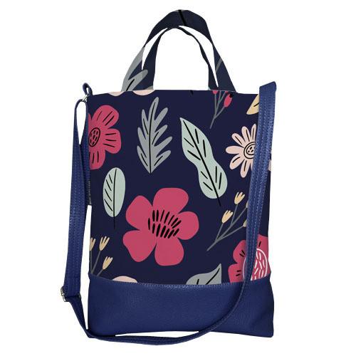 Городская сумка City Цветы (SCB_20M025_TSI)