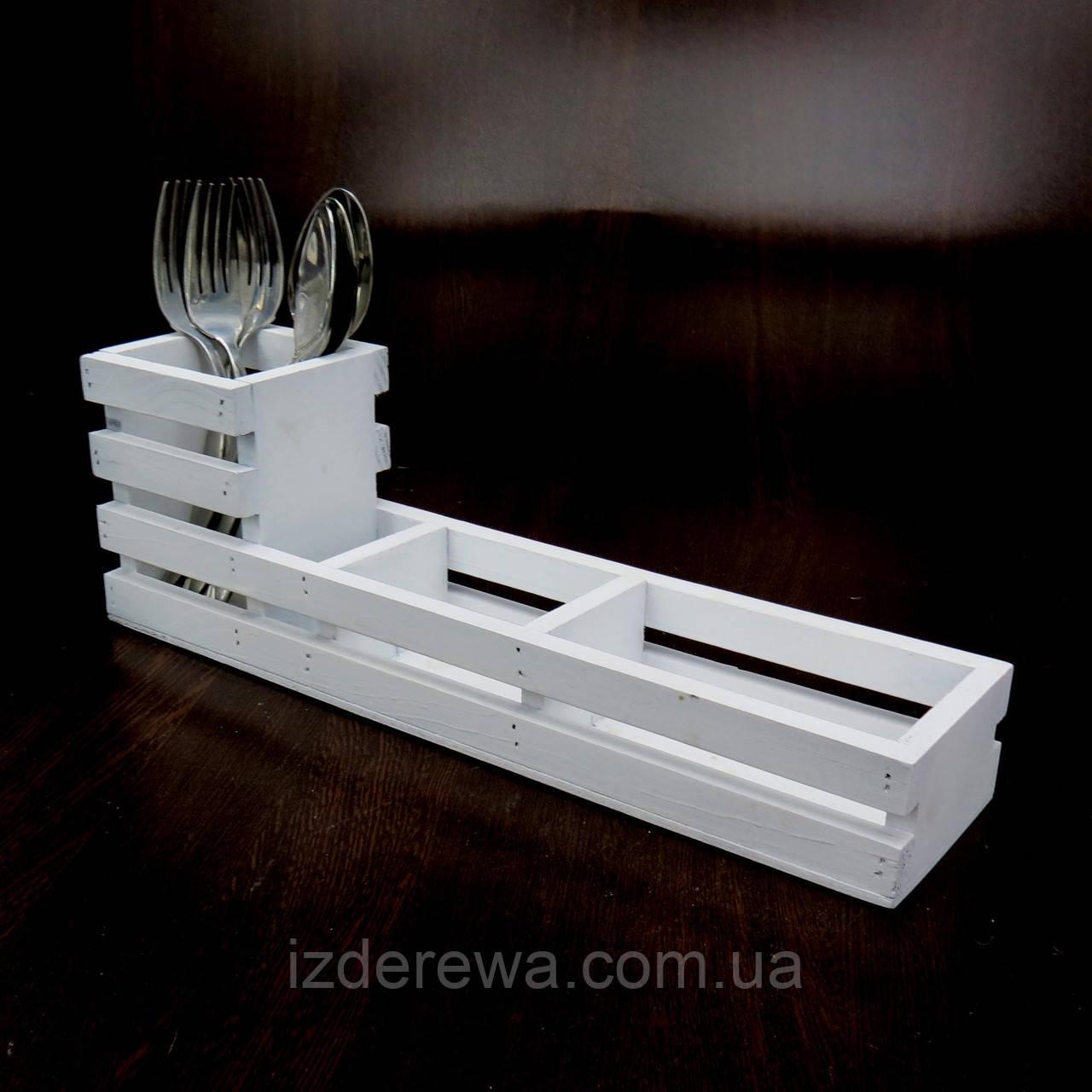 Подставка для столовых приборов Фарина зефир