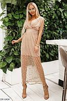 Платье женское длинное Мэдлин