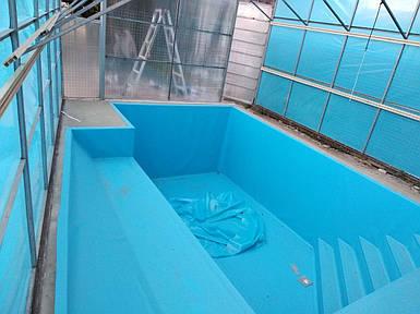 Поліпропіленовий басейн прямокутний - 12,0 x 4,0 x 1,5 м ПІД КЛЮЧ!