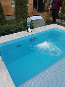 Поліпропіленовий басейн прямокутний - 15,0 x 5,0 x 1,5 м ПІД КЛЮЧ!